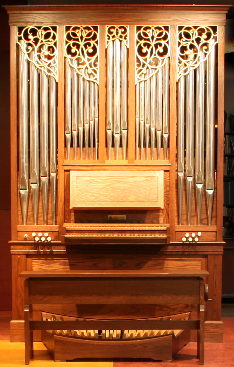 9 rank J W Walker pipe organ